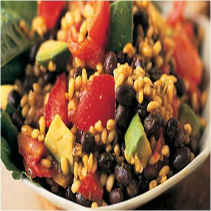 Barley Black Bean and Avocado Salad Recipe