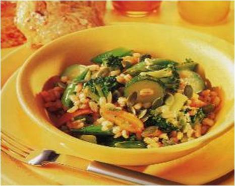 Broccoli and Pearl Barley Salad Recipe
