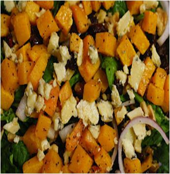 Butternut, Blue Cheese and Walnut Salad Recipe