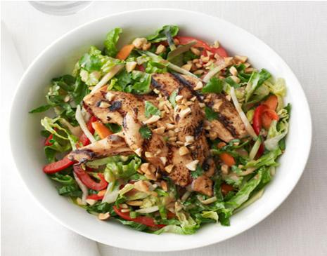 Chicken Satay Salad Recipe