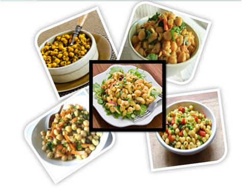 Curried Chickpea Salad Recipe