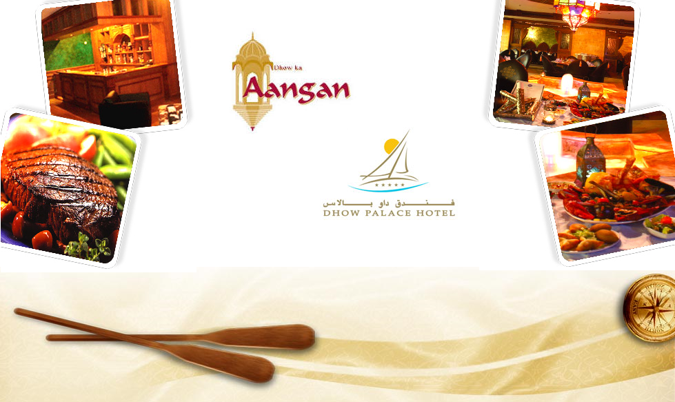 Dhow ka aangan restaurant dubai overview for Aangan indian cuisine