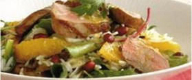 Duck Salad with Mushrooms and Oranges Recipe