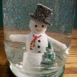 How to Make a Snow Globe With a Jar