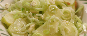 Fennel Apple and Blue Cheese Salad Recipe