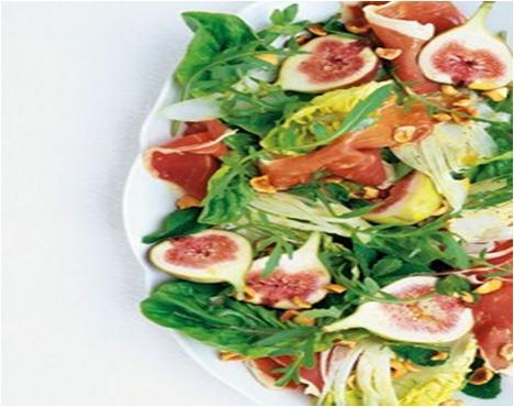 Figs with Parma Ham Salad Recipe