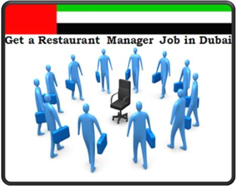 Get a Restaurant Manager Job in Dubai