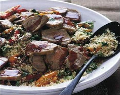 Moroccan Lamb Salad with Couscous Recipe