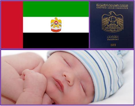 Nationality Passport for Children Born in Dubai