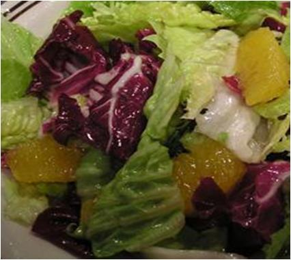 Orange Cos Salad Recipe