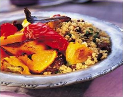Persian Style Squash Couscous Salad Recipe