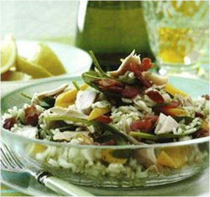 Pesto Rice Salad with Tuna Recipe