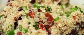 Quinoa Salad with Dried Fruit Recipe