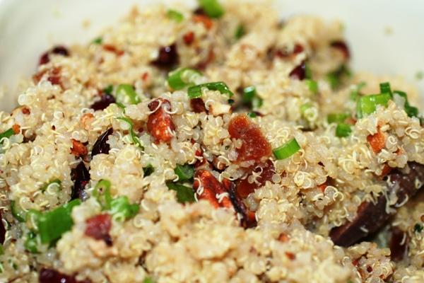 Quinoa Salad with Dried Fruit Recipe