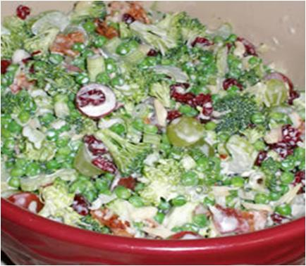 Raw Veggie Picnic Salad Recipe