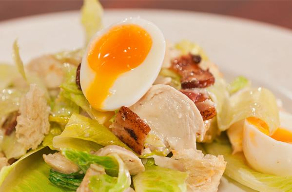 Smoked Chicken Caesar Salad Recipe