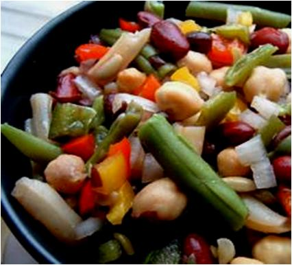 Spicy Bean Salad Recipe