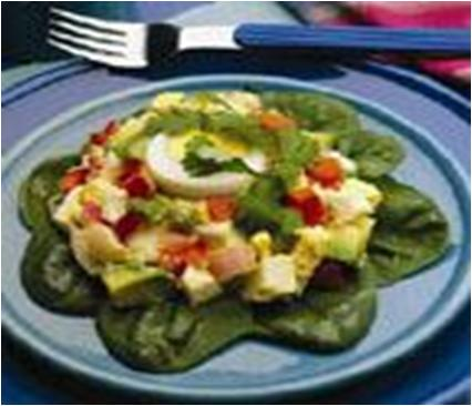 Tomato-Avocado-Egg-Salad