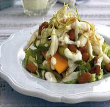 Tropical Avocado and Crab Salad Recipe