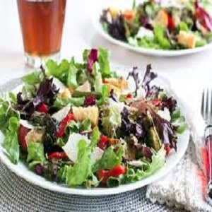 Griddled Asparagus and Peppers Salad Recipe