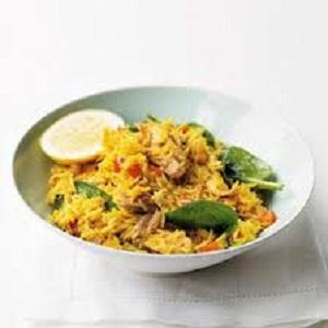 Warm Salad with Spicy Tuna and Feta Recipe