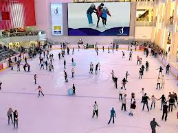 Best Places for Ice Skating in Dubai
