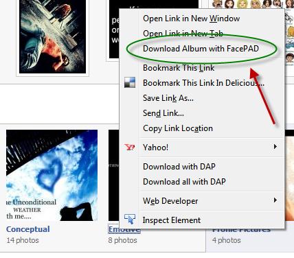 Download Full Facebook Photo Albums