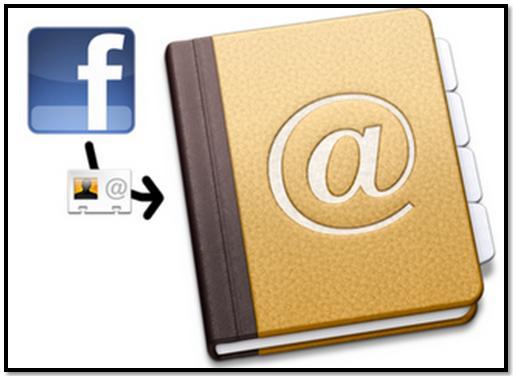 Download Facebook Friends Email Addresses
