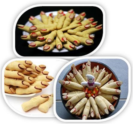 Dead Finger Cookies