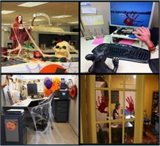 How to Decorate Office for Halloween