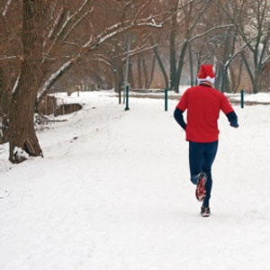 Winter Running Dress