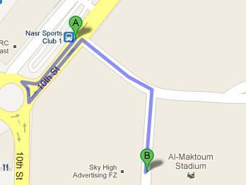 How to Get to Al Maktoum Stadium Oud Metha Dubai