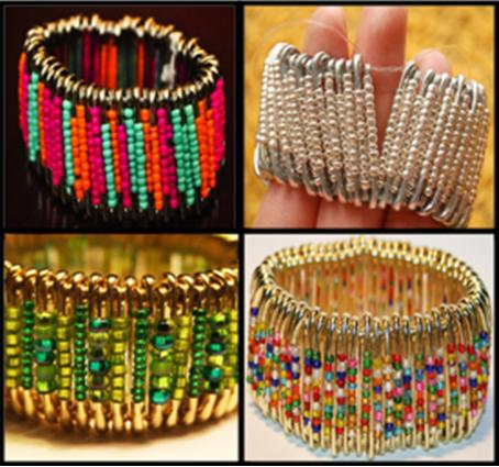 How to Make Safety Pin Bracelet