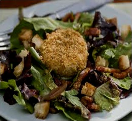 Warm Goat's Cheese Salad Recipe