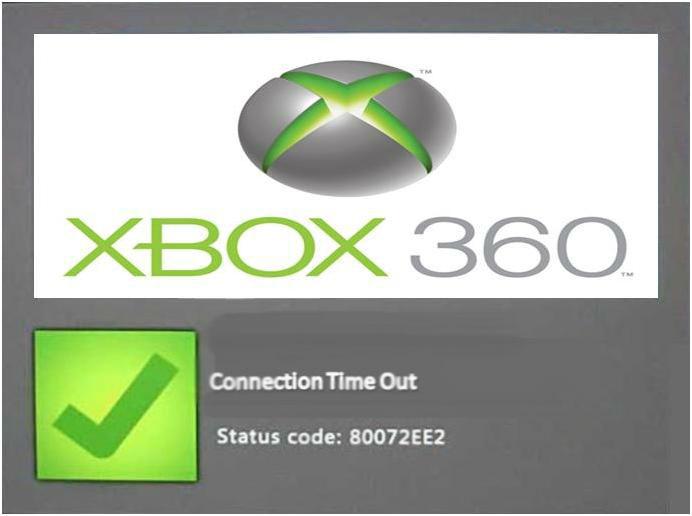 Xbox Error 80072EE2