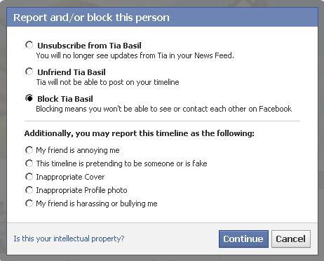how to know if fb is blocking you