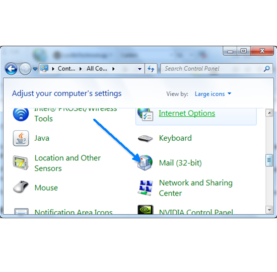 how to create outlook account 2010