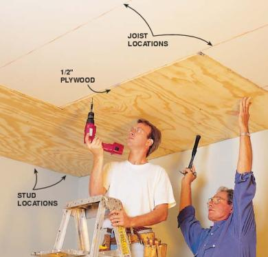 How To Install A Tin Ceiling