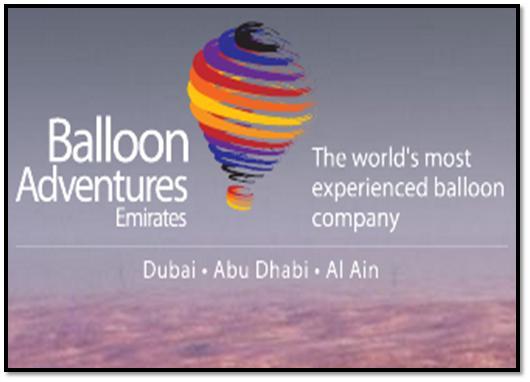 Balloon Adventures Emirates Dubai Overview