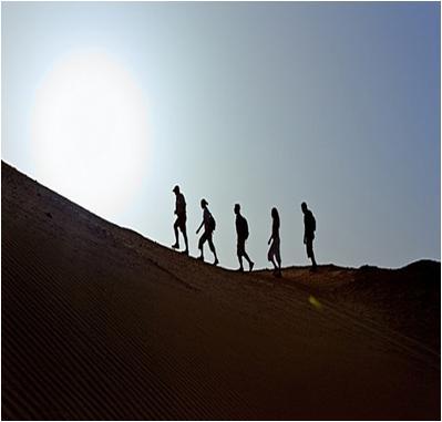 Climbing Hiking Adventures in Dubai