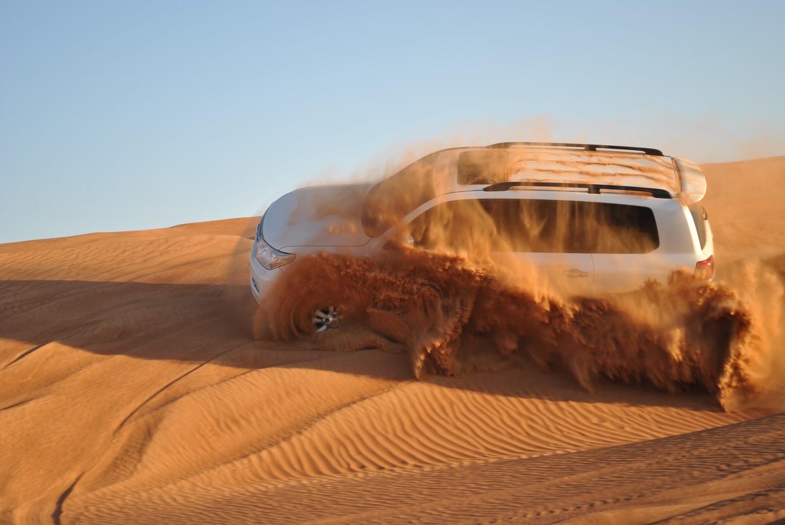Desert Driving Adventures in Dubai UAE