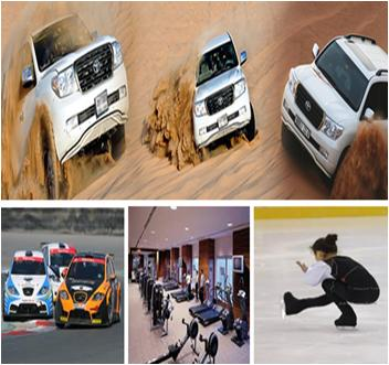 Extreme Sports Activities and Adventures in Dubai