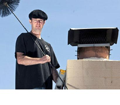 How to sweep chimney