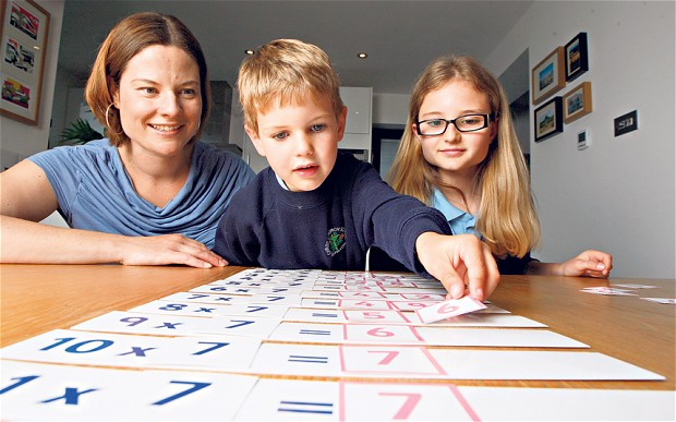 How to teach times table to children