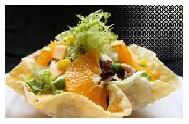 How to make tortilla salad bowls