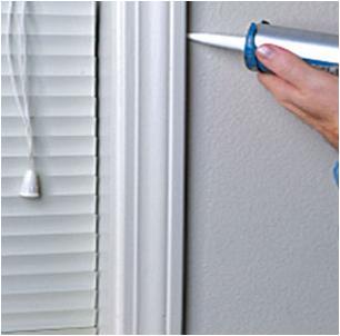 how to caulk windows properly