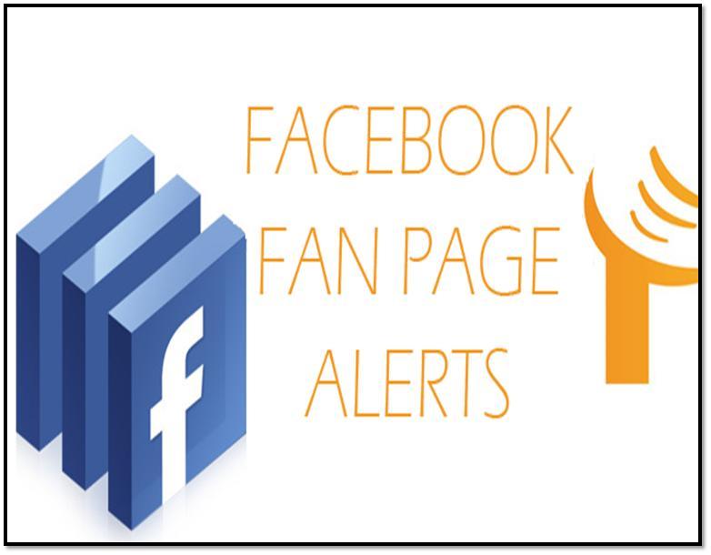 facebook fan page alert