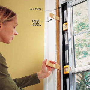 how to put in a casement window