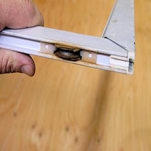 Sliding screen door for Rolling screen door replacement