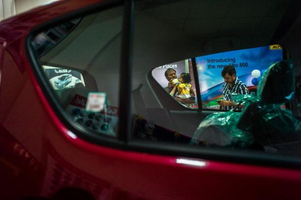 Inside A Maruti Suzuki India Dealership